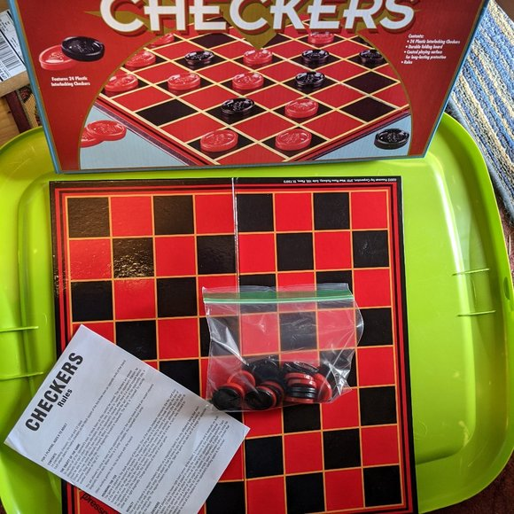 Checkers and Monopoly Card Game
